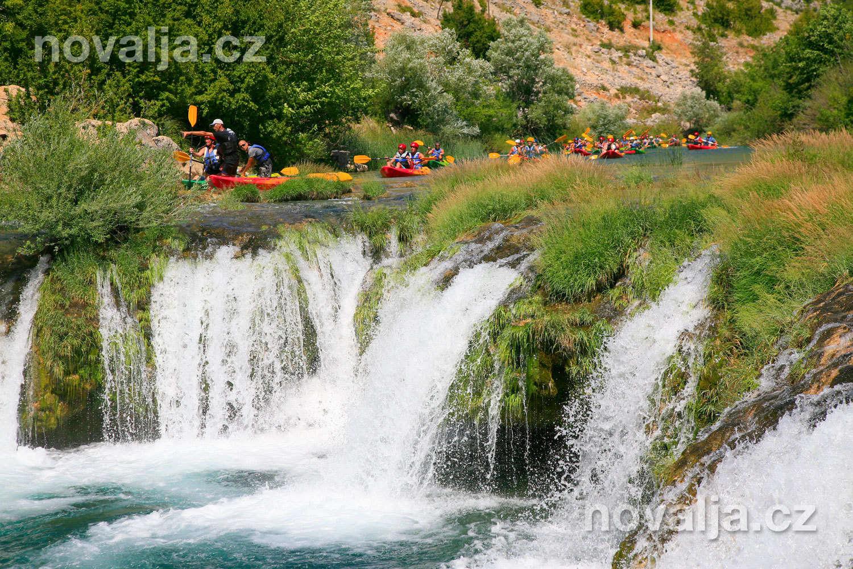 Chorvatsko - řeka Zrmanja