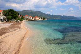 Orebić, poloostrov Pelješac, Chorvatsko