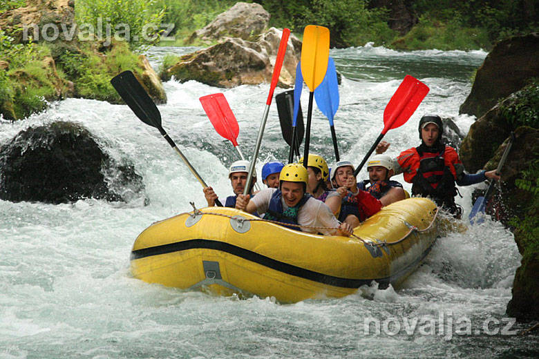 Cetina rafting
