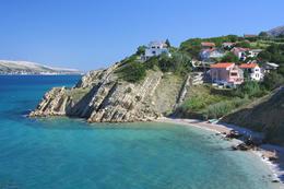 Pag-Bošana, ostrov Pag, Chorvatsko