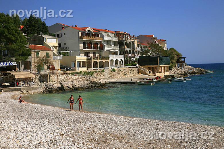 Milna, ostrov Hvar, Chorvatsko