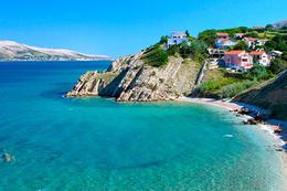 Bošana, ostrov Pag, Chorvatsko