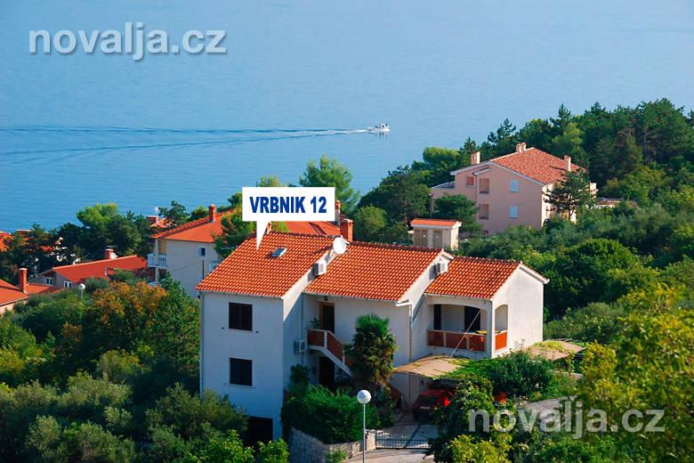 Apartmány Vrbnik 12, Vrbnik, ostrov Krk