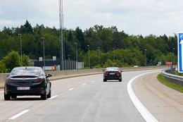 Objížďka slovinské dálnice