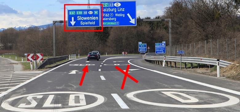 Kadiaľ do Chorvátska -odbočky na dialnici