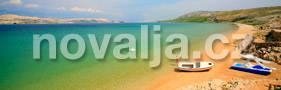 Čista plaža, ostrov Pag