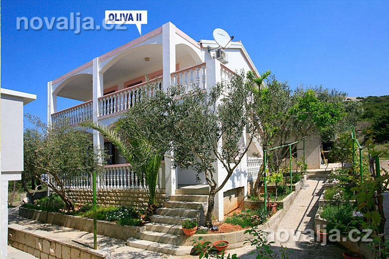 Apartmány Oliva -Stará Novalja