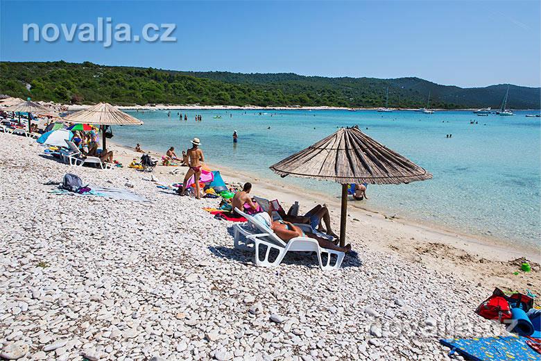 Pláže v Chorvátsku