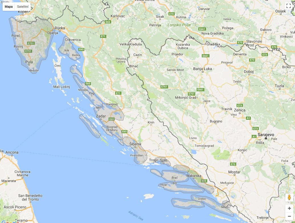 Chorvatsko Novalja