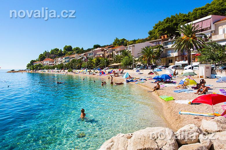 Pláže v Chorvatsku