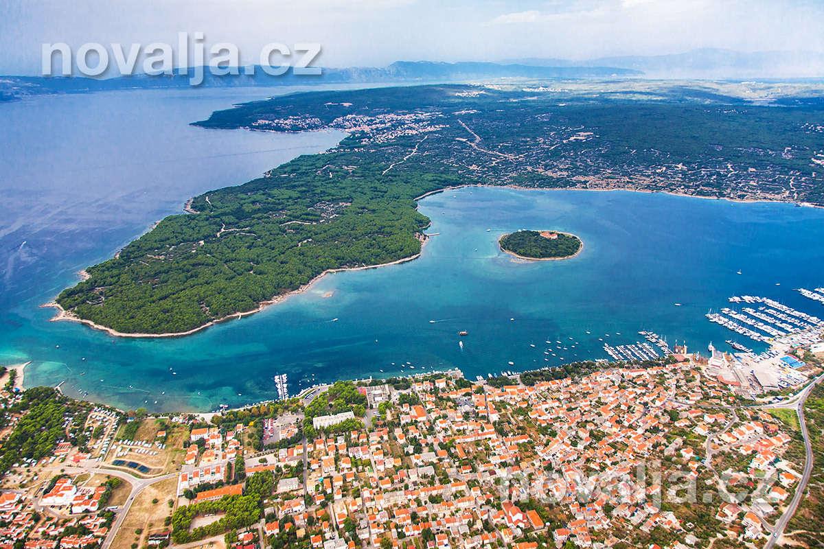 Punat, ostrov Krk, Chorvatsko