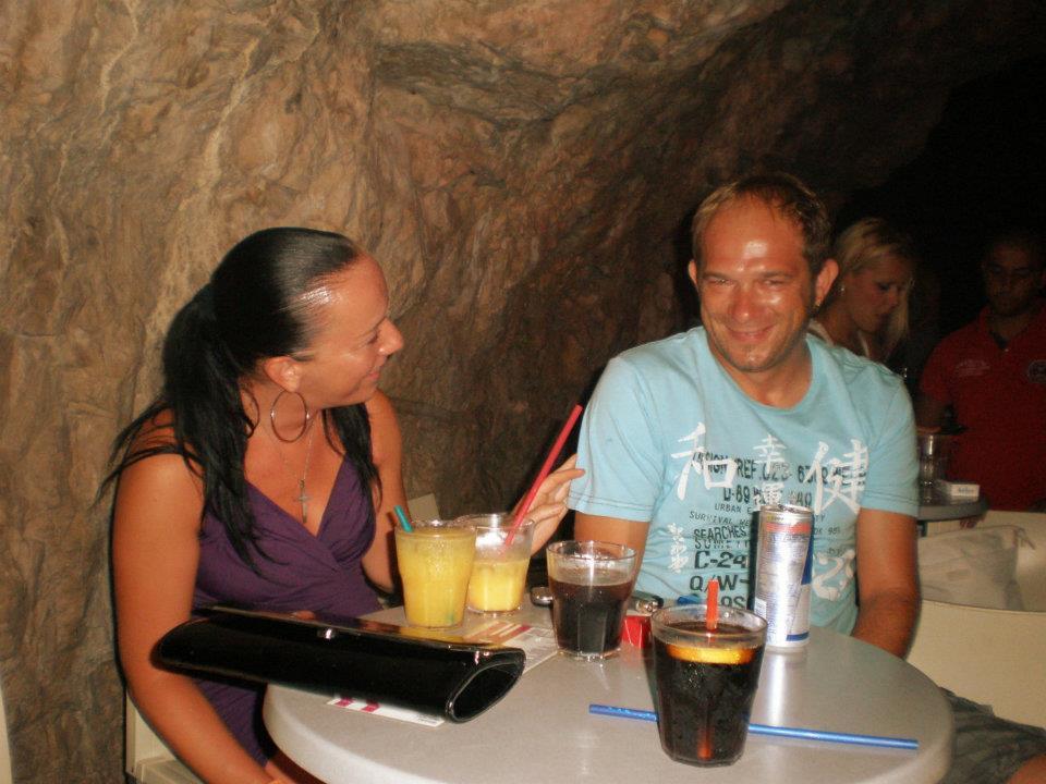 Nočný život v Makarskej