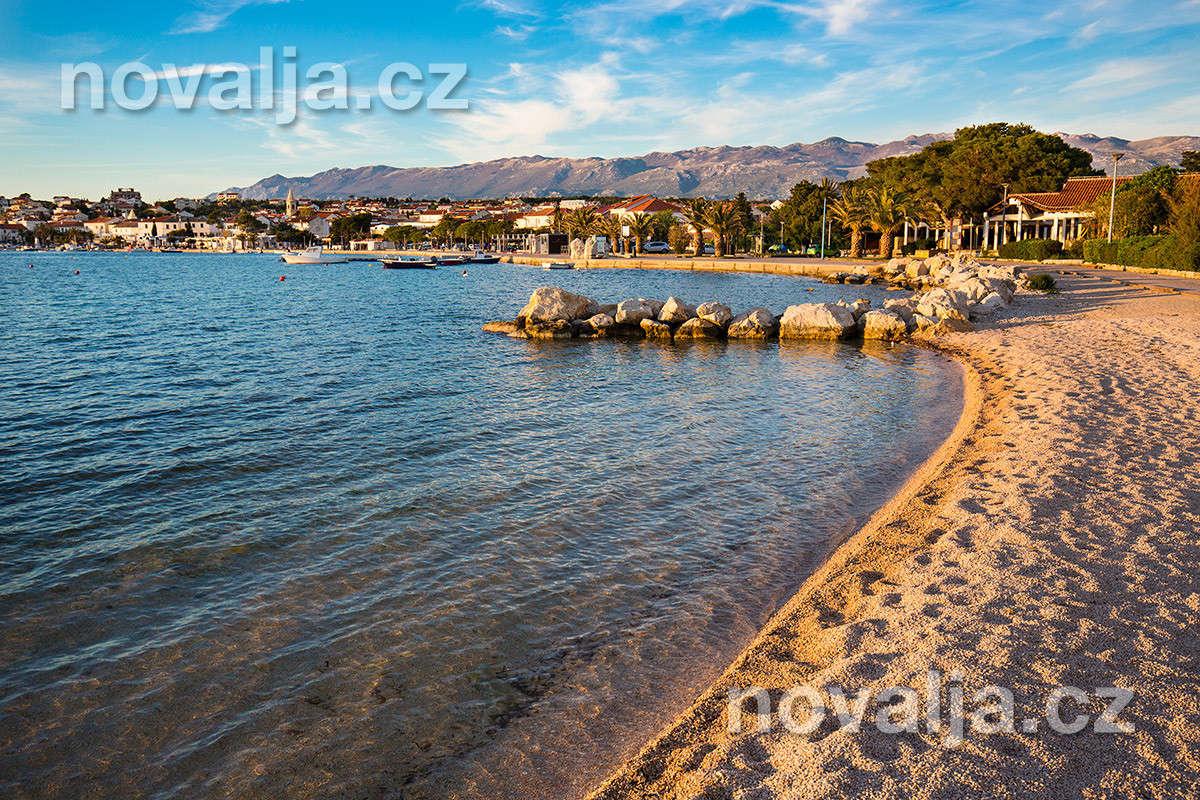 Novalja, ostrov Pag, Chorvatsko