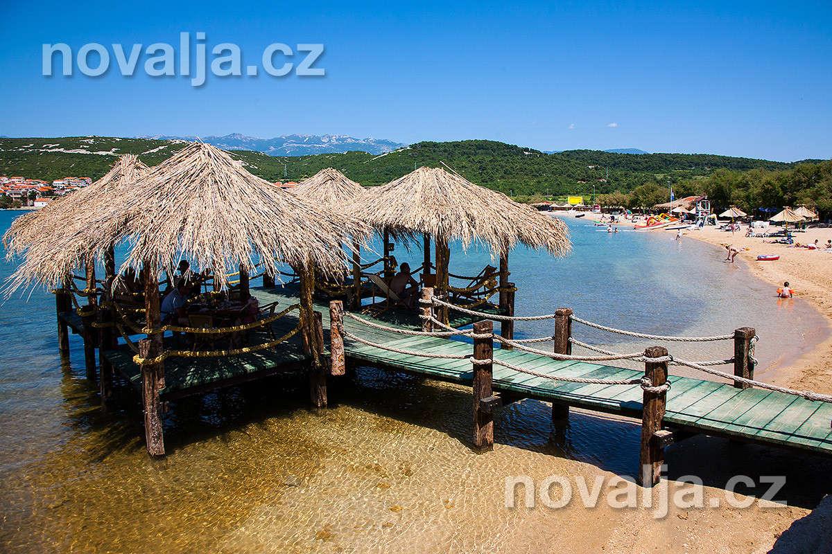 Stará Novalja, ostrov Pag, Chorvatsko