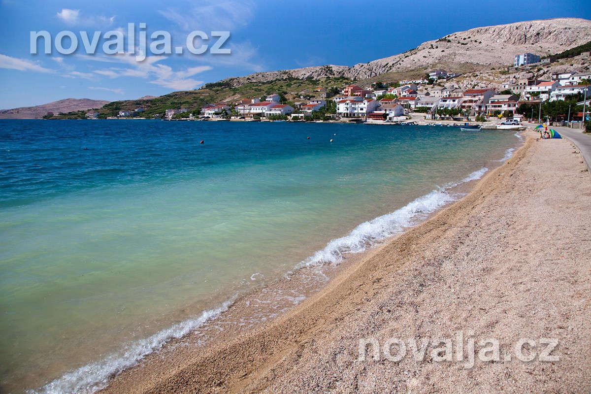 Metajna, ostrov Pag, Chorvatsko