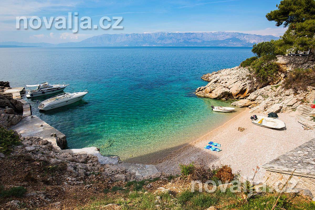 Severní zátoky ostrova Hvar, Chorvatsko