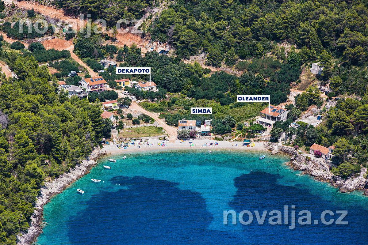 Jižní zátoky ostrova Hvar, Chorvatsko