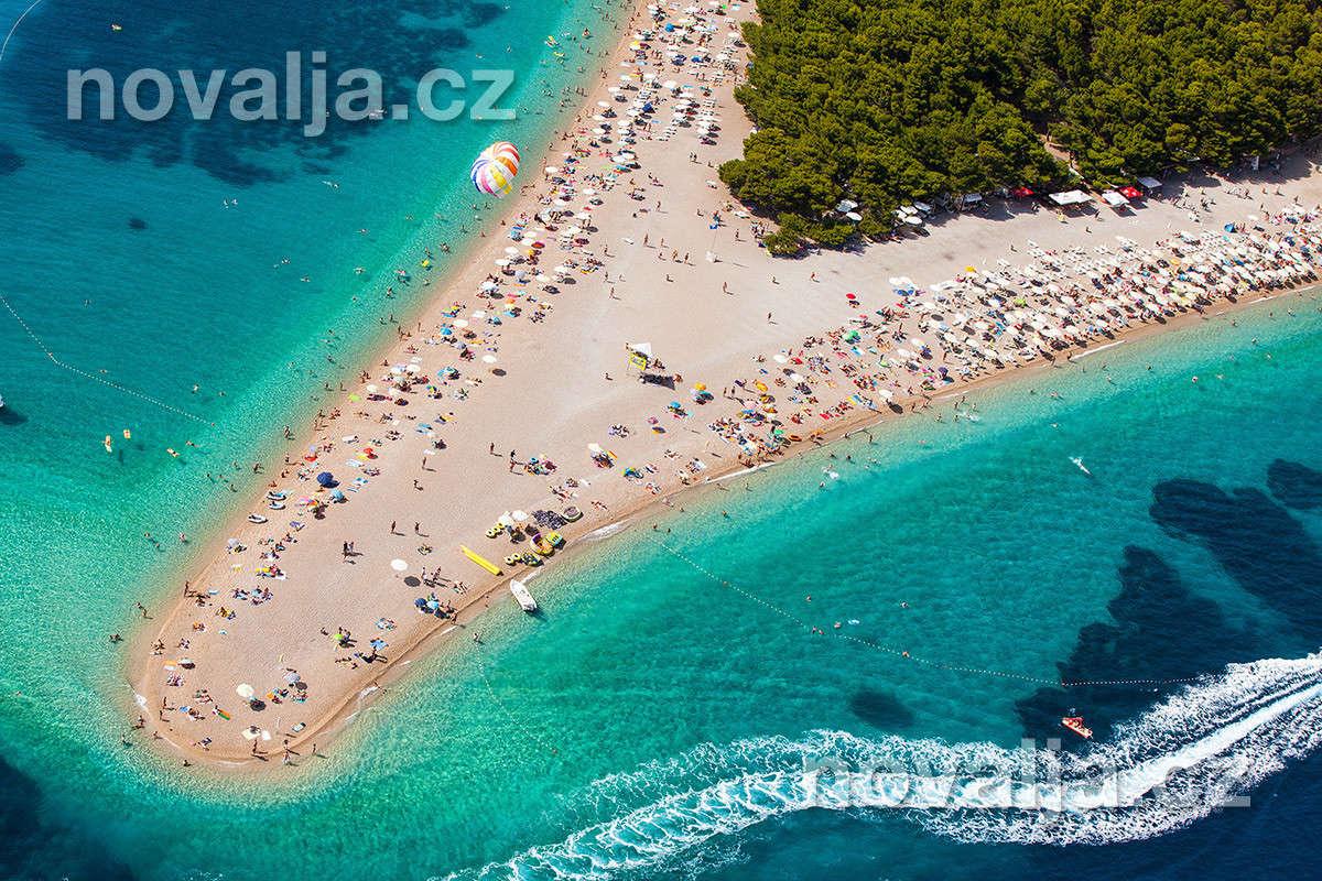Bol, ostrov Brač, Chorvatsko