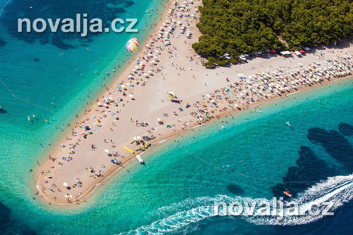 Pláže Chorvatsko