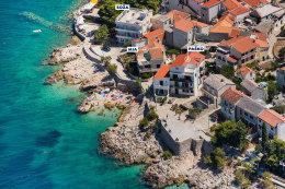 Letecké fotky Chorvatska