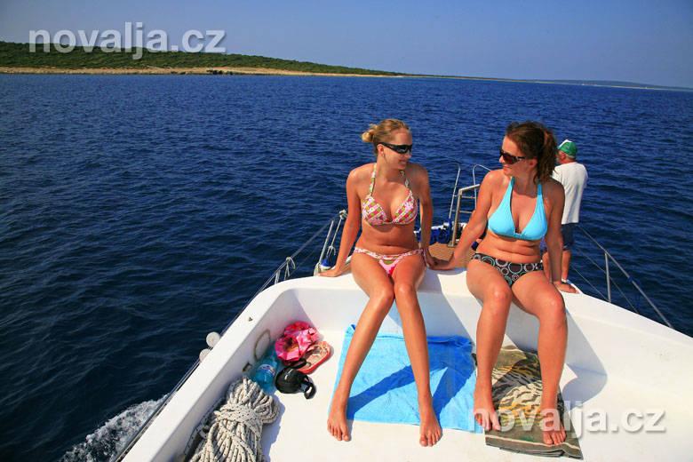 Lodní výlet na ostrovy Olib aSliba